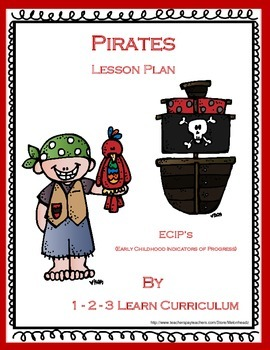 Pirate Lesson Plan using ECIP's