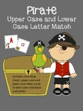 Pirate Letter Match - Capital and Lower Case