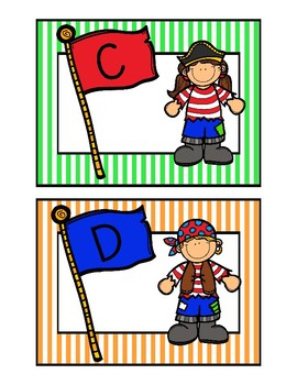 Pirate Library Cards