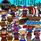 Pirate Life and Chores Clipart {Creative Clips Clipart}