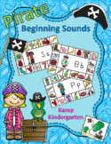 Pirate Literacy Activities Beginning Consonant Sounds
