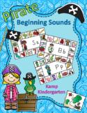Pirate Literacy Activities Beginning Consonant Sounds