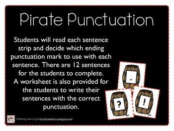 Pirate Literacy Centers