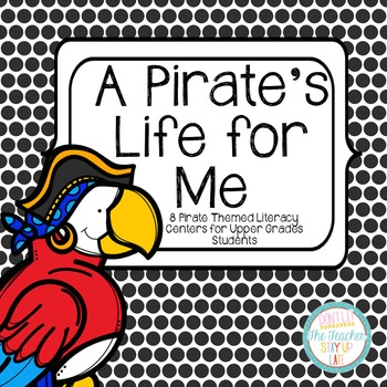 """Pirate Literacy Centers for """"Big Kids"""""""