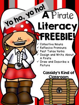 Pirate Literacy FREEBIE