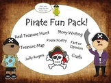 Pirates - Treasure Hunt - ELA Literacy Activities