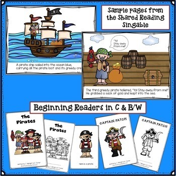 Pirate Theme - Song and Activities