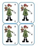 Pirate Lower to Lower Clip Cards