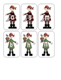 Pirate Lowercase Flashcards