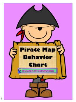Pirate Map Interactive Behavior Chart