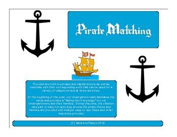 Pirate Matching