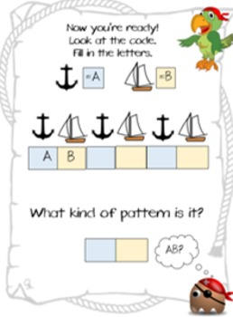 Pirate Matey's Counting and Patterns