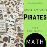 Kindergarten Pirate Math Activities