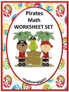 Pirates,Special Education Math, Math Skills for Kindergarten, Preschool Math