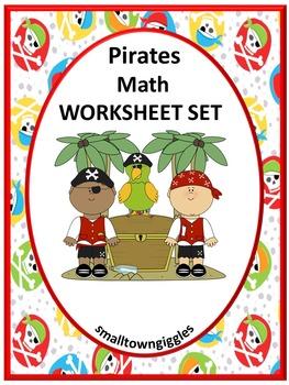 Pirate Math Activities
