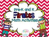 Pre-K and Kindergarten Pirate Math Activities