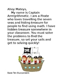 Pirate Math Activity