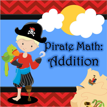 Pirate Math: Addition FREEBIE