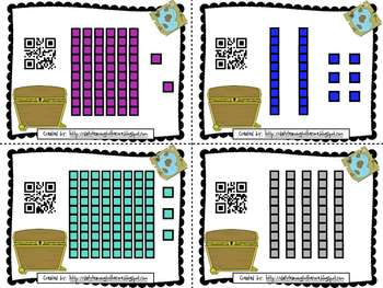 QR Code Place Value and Base 10