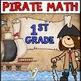 Pirate Math Centers K-2 Bundle