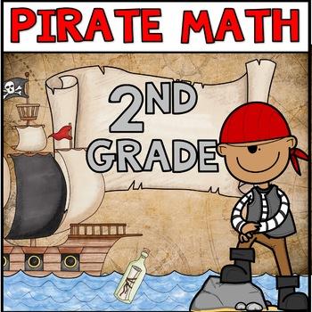 Pirate Math Centers Second Grade