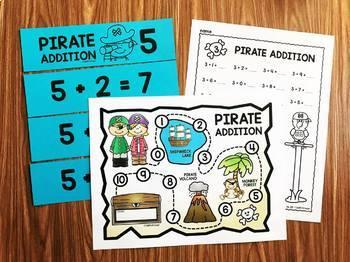 Pirate Math Fact Fluency