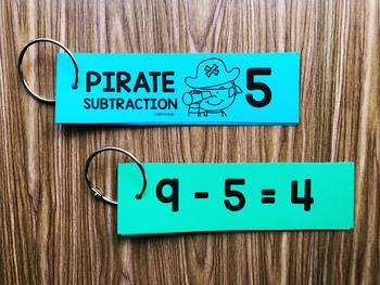 Pirate Math - Fluency Rings Subtraction from 10