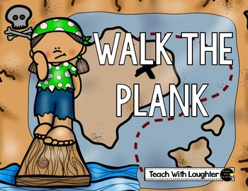 Pirate Math Game: Walk the Plank