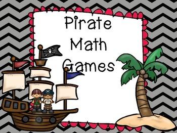 Pirate Math Games