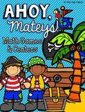 Pirate Math Games Centers