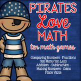 Pirate Math Games and Centers