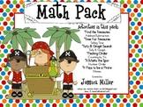 Pirate Math Pack- 6 Centers