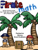 Pirate Math: Perimeter, Money & Problem Solving for 1st-3rd Grade