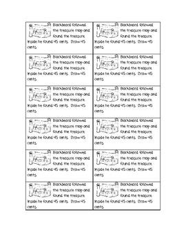 Pirate Math Story Problems