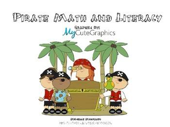 Pirate Math and Literacy