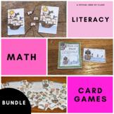 Pirate Math and Literacy Activities - Bundled