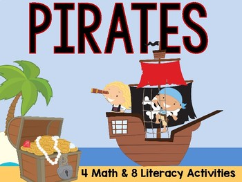 Pirate Math and Literacy Centers