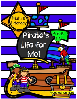 Pirate Math and Literacy Pack