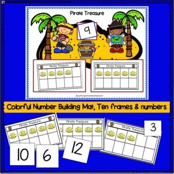 Pirate Math using 10-Frames