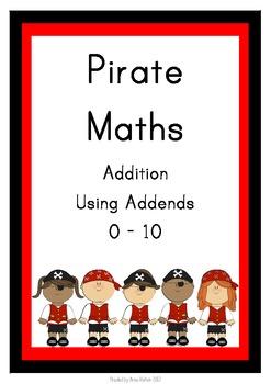 Pirate Maths - Using Addends 0 - 10