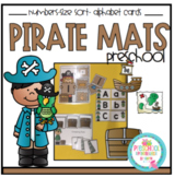 Pirate Mats- Numbers-Size Sort and Alphabet Cards