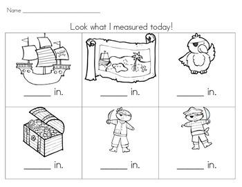 Pirate Measurement Adventure! (Non-Standard Units)