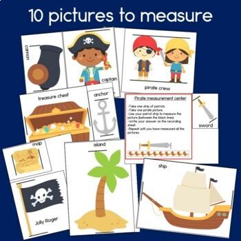 Pirate Measurement with non-standard units