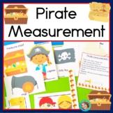 Non Standard Measurement Center Pirate Theme