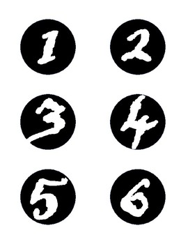 Pirate Mini Numbers