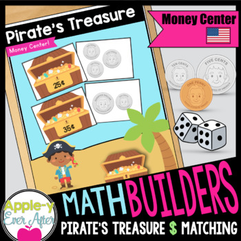 Pirate Money Matching Center - American USA Currency Game