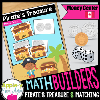 Pirate Money Matching Center - Canadian Currency Game