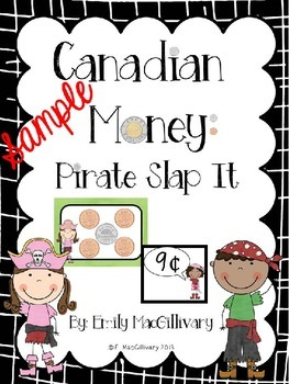 Pirate Money Slap It Freebie! Canadian Money