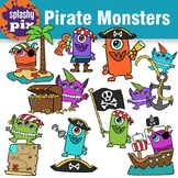 Pirate Monsters Clipart