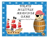 Pirate Multiple Meanings Game: A Companion to Pop-Up Pirate